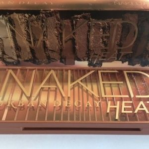 Naked Heat Eyeshadow Palette  NIB